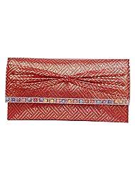 Womaniya PU Pink Handbag For Women(Size-28 Cm X 15 Cm X 3 Cm) - B00SJ1LSNA