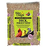 Wild Delight 374050 Advanced Formula Deck Porch N Patio Seed, 5 Pounds