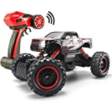 1/14 RC Crawler Remote Control 4x4 Off Road Cars for Adults FSTgo Radio Controlled Vehicles Kids Toy Monster Buggy Electric Trucks with LED Headlights