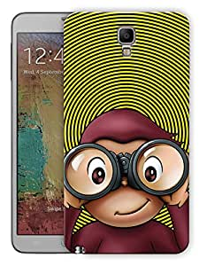 """Humor Gang Confused Quirky Monkey Printed Designer Mobile Back Cover For """"Samsung Galaxy Note 3"""" (3D, Matte, Premium Quality Snap On Case)"""