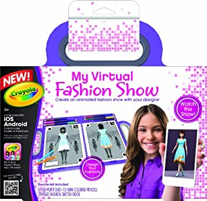 Crayola My Virtual Fashion Show Toys Games