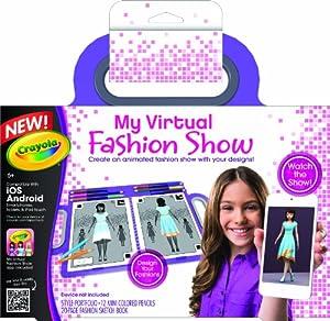 Crayola My Virtual Fashion Show Toys Games