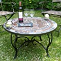Funchal Mosaic Fire Pit Table from VISTERA