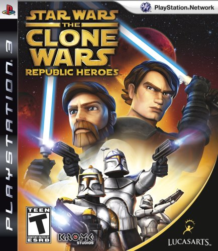 Star Wars The Clone Wars: Republic Heroes - Playstation 3 (Ps3 Clone Console compare prices)