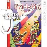 Fridolin goes Pop inkl. praktischer Notenklammer - Blues, Pop und Rock leicht gesetzt für zwei Gitarren - mit kleiner Anleitung für die Bluesimprovisation (Die Fridolin Reihe) (broschiert) von Hans Joachim Teschner (Noten/Sheetmusic)