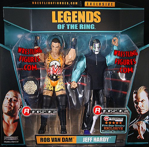 Buy Low Price WRESTLING FIVE STAR RIVALRY JEFF HARDY & RVD RINGSIDE EXCLUSIVE TNA Toy Wrestling Action Figures (B004RPRO7Q)
