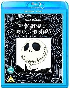 The Nightmare Before Christmas Combi Pack (Blu-ray + DVD)