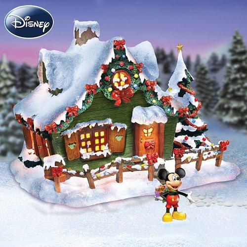 Disney Tabletop Christmas Tree: Disney Holiday Village