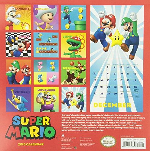 Super Mario Calendar (Calendars 2015)