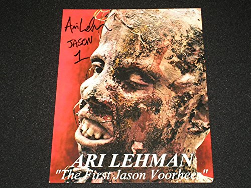 Ari Lehman Signed New 8×10 Photo The First Jason Voorhees ...