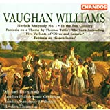 "R. Vaughan Williams: Norfolk Rhapsody / In the Fen Country / Five Variants of ""Dives and lazarus"" / Fantasia  on Greensleeves / The Lark Ascending"
