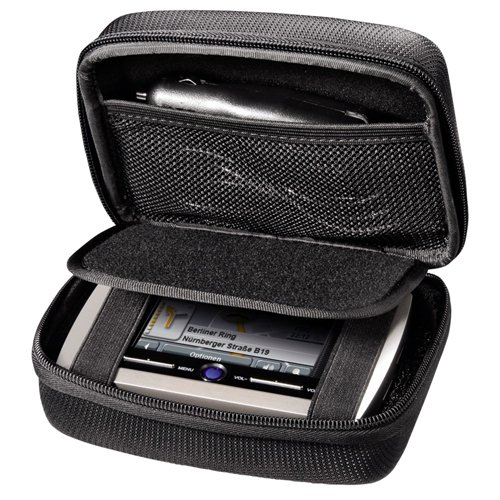 Hama Universal Hard Case For Sat Nav - Suitable for all 3.5