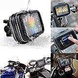 ELEGIANT-Wasserdicht-Handytasche-Case-mit-Fahrradhalterung-Fahrrad-Motorrad-Halter-fr-35-43-5-Zoll-Garmin-TomTom-Magellan-GPS-iPhone-6s-6-5S-5C-HTC-ONE-M8-M7-Samsung-Galaxy-S4-S3-Huawei-etc