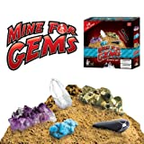 Mine for Gems - Excavate 10 Real Gemstones with this Fun Digging Kit!by Discover with Dr. Cool