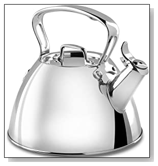 All-Clad Stainless Steel Specialty Cookware Tea Kettle