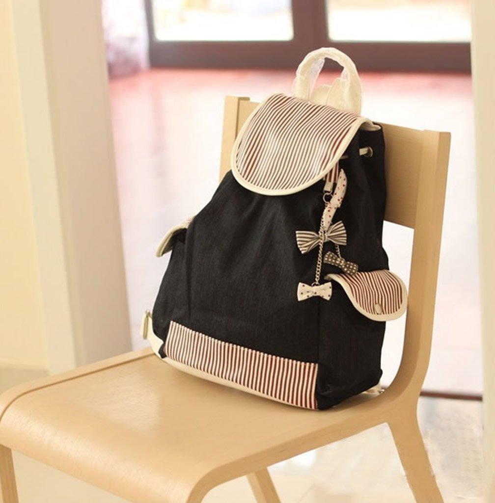 Girls' Casual Style Canvas Backpack/ Handbag/ Schoolbag