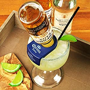 Coronarita bottle holders schooner glasses set of 12 for How to make corona glasses