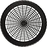 "Plastic 9"" Paper Plate Holders in Black Maryland Plastics 4 per Pack"