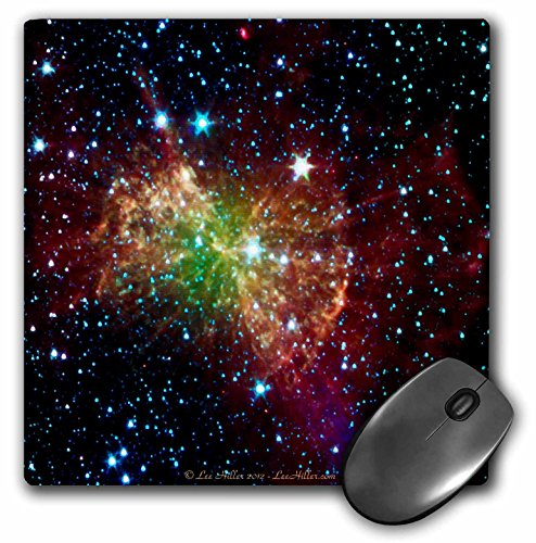 Lee Hiller Designs Space - In the Cosmos - Dumbbell Nebulapia - MousePad (mp_61548_1)