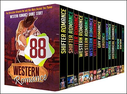 WESTERN: 88 BOOK BUNDLE - Huge Amazing Mega Bundle With Hot Shifter, Western, MM, Historical, BWWM Short Stories