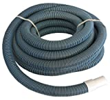 """Swimming pool Commercial Grade Vacuum Hose 1.5""""- 40' length with Swivel End"""