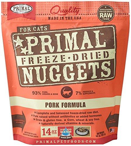 Primal FPKFD14 Pet Foods Freeze-Dried Feline Pork Formula, 14 oz. (Primal Freeze Dried Food compare prices)