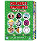 Children's Favourites - Triple Pack - Superstar/Brightest/Ultimate [2008] [DVD]