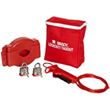 Brady Gate Valve Lockout Pouch Kit