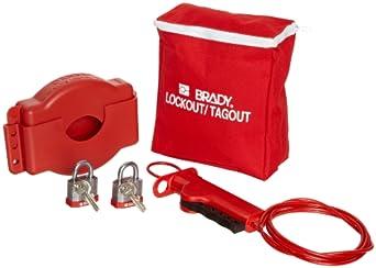Brady Gate Valve Lockout Pouch Kit