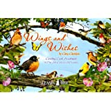 Leanin' Tree Bird Greeting Cards - Wings and Wishes by Greg Giordano [AST90762] - 20 Greeting Cards with Full-color Interiors