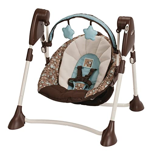 Graco Swing By Me Portable 2-in-1 Swing, Little Hoot Review