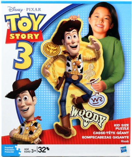 Cheap Hasbro Toy Story Woody Kid Size Jigsaw Puzzle 32 Pieces (B003SHNNV0)