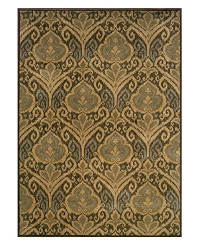 Granville Rugs Alhambra Rug, Red, 3' 10 x 5' 5