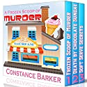 A Frozen Scoop of Murder: The Bundle Edition, Books 1-6: Cozy Mysteries Series Audiobook by Constance Barker Narrated by Angel Clark