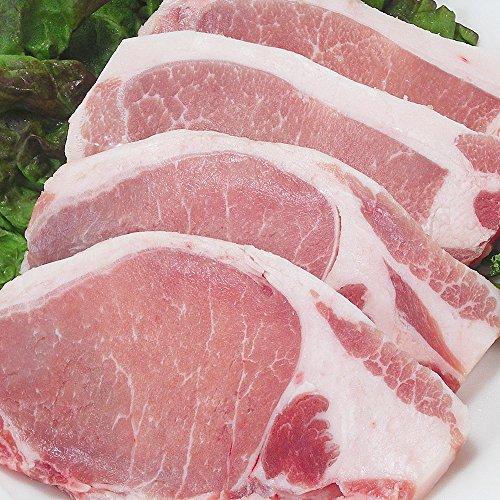 大和美豚の豚ロース肉豚テキ・カツ用カット 500g!