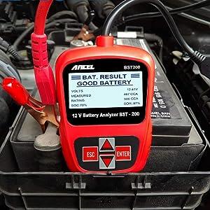 ANCEL BST200 Battery Load Tester 12V 100-1100 CCA Automotive Bad Cell Test Tool Digital Analyzer