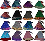 Wevez® Women's Plus Size Sari Magic Skirt, One Size, Assorted