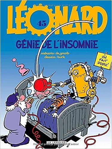 Leonard - Tome 45 : Génie de l'insomnie