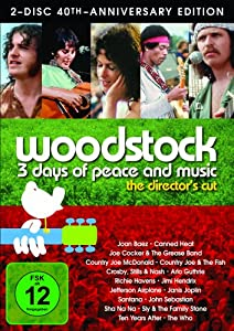DVD * Woodstock - 3 Days of Peace and Music S.E. (2 Discs) [Import allemand]