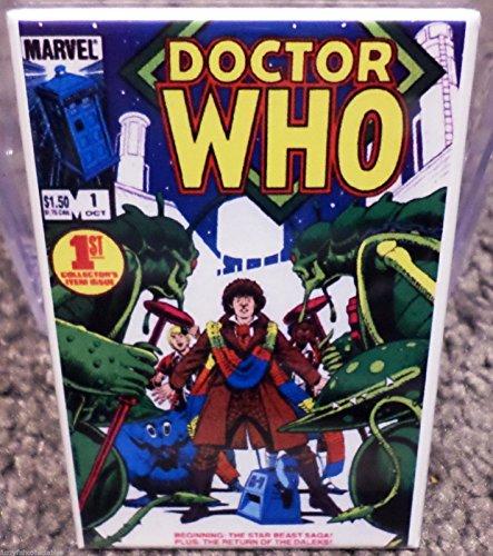 Doctor Who #1 Vintage Comic Cover 2 x 3 Refrigerator or Locker MAGNET TARDIS (Tardis Fridge Cover compare prices)