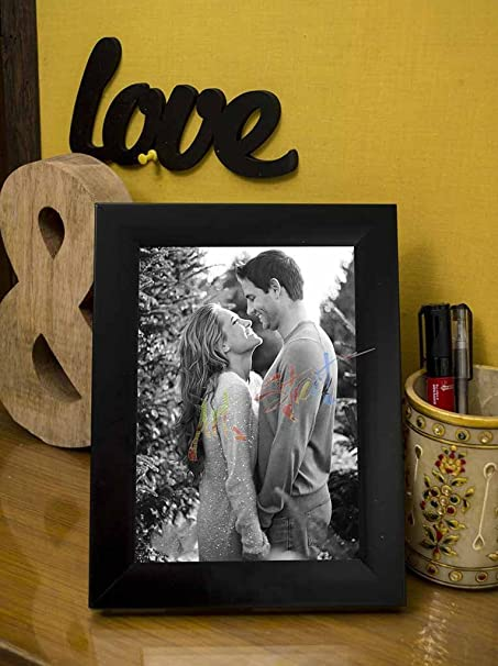 Get upto 80% off on Home Clearance ART STREET Black Table Photo Frame 5x7 photo size