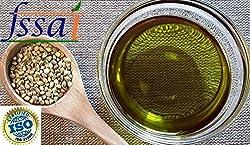 Pure Hemp Seed Oil Extra Virgin/ Cold Pressed/ Unrefined 1000ml