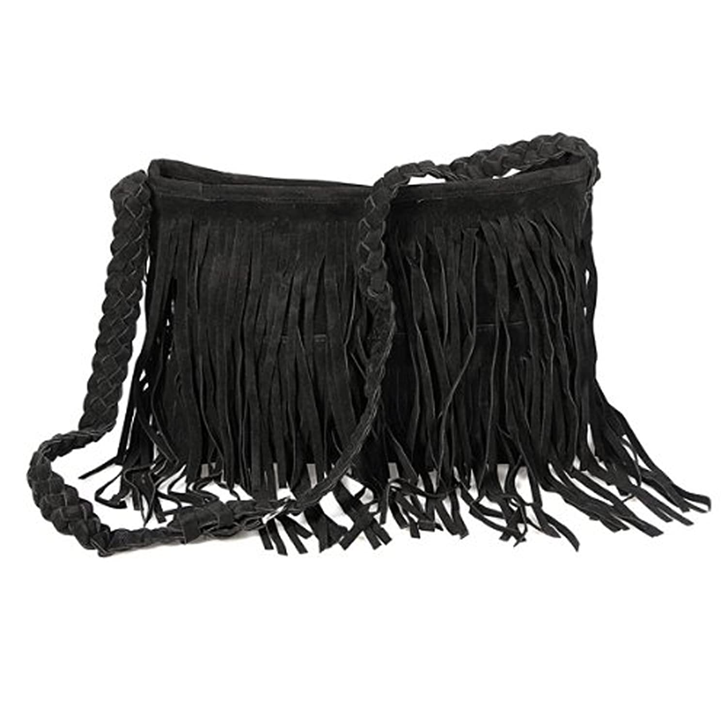 Celebrity Fringe Tassel Shoulder Messenger Bag 6