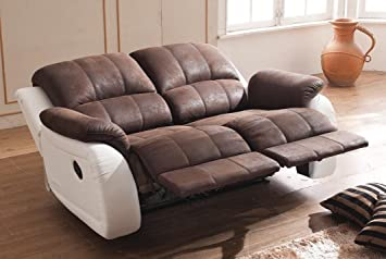 Relax Sofa Couch Fernsehsessel Relaxsessel Fernsehsessel 5129-2-PU