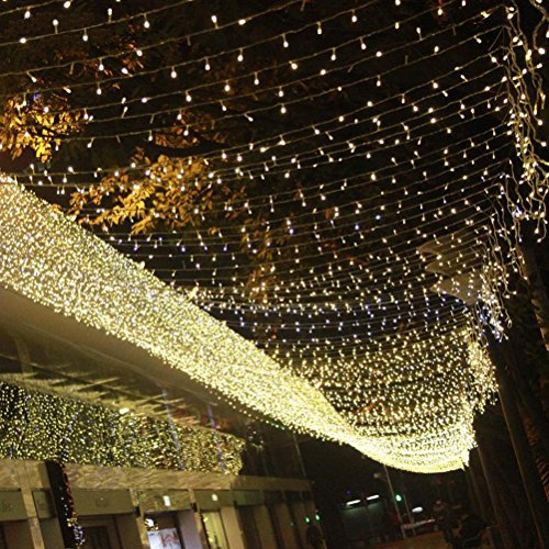 Thanksgiving String Lights Outdoor : Sunnyillumine 8 Settings 33ft 100 Leds Bright Warm White String Lights Starry Lights Indoor ...