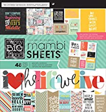 Me amp My Big Ideas MAMBI Paper Pad 12-Inch by 12-Inch Quoted 48-Pack