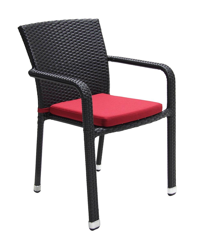 Acamp Sitzkissen Sessel Carlos, rot günstig kaufen