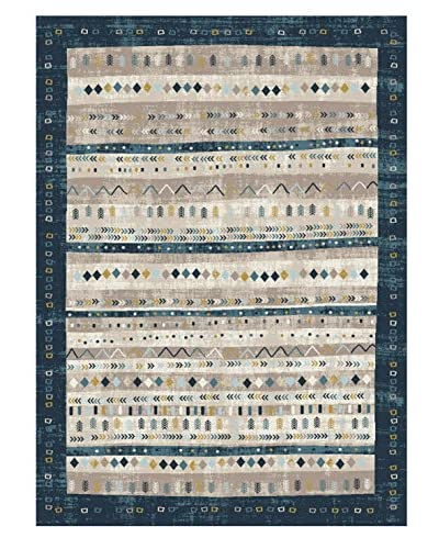 Universal Rugs Concept Indoor/Outdoor Transitional Area Rug
