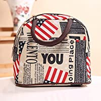 Baloray Cute Love Heart Lunch Bag Tote Bag Lunch Organizer Lunch Holder Lunch Container (05)