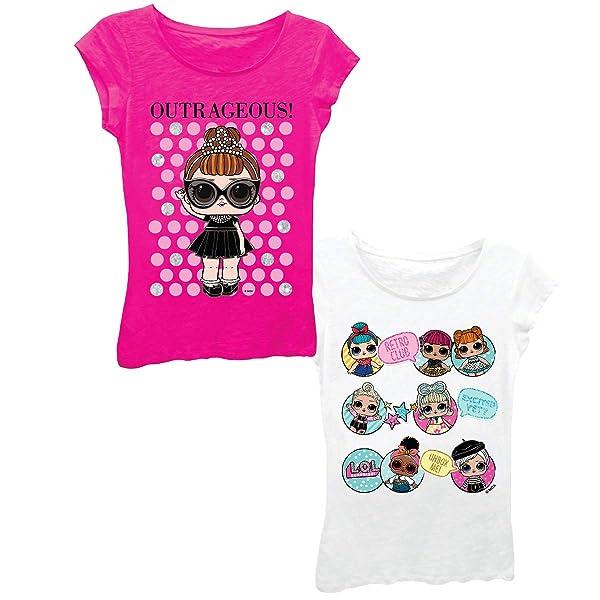 Girls Glee Club Rocker Short Sleeve T-Shirt Surprise L.O.L
